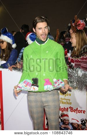 LOS ANGELES - NOV 17:  Josh Henderson at the