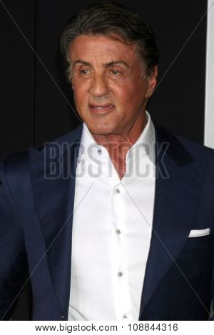 LOS ANGELES - NOV 19:  Sylvester Stallone at the