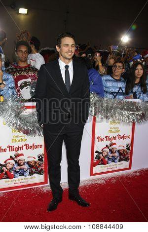 LOS ANGELES - NOV 17:  James Franco at the