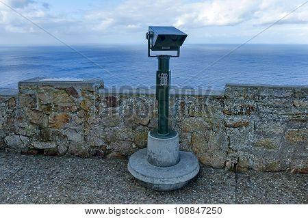 Revolving binoculars of lighthouse at Cape of good hope
