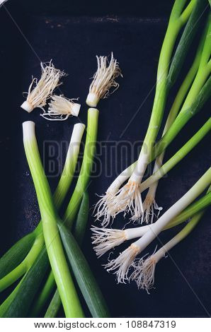 Bunch Of Green Onions