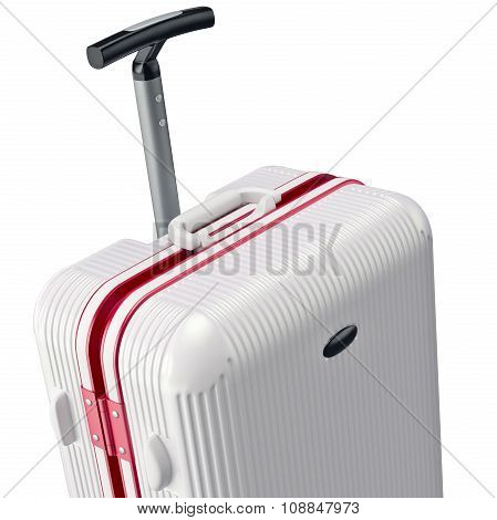 White luggage, zoomed view