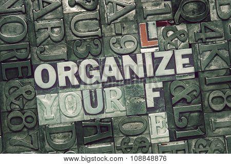 Organize Your Life Met