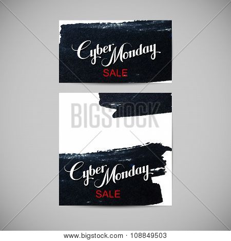 Cyber Monday Sale label