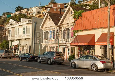 Early morning in Sausalito, California