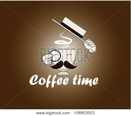 Abstract Coffee Background