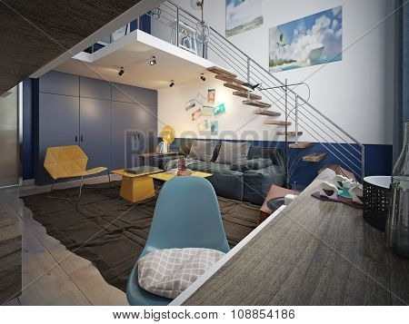 Youth Room Contemporary Style
