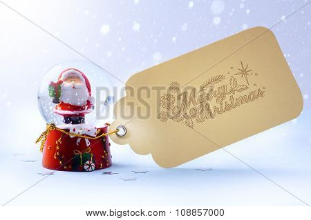 Art  Christmas Background With Christmas Decoration