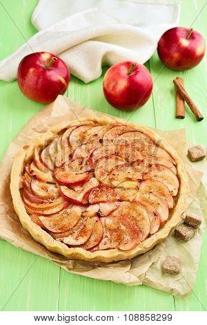 Fruit Apple Pie