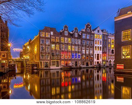 Nightscape Amsterdam