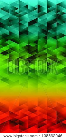 Abstract Geometric Background Colorful Banner