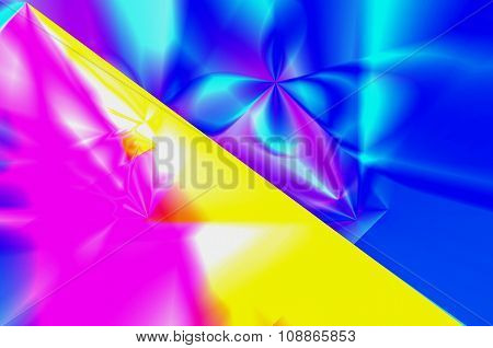Abstract Illustration Of Various Colors