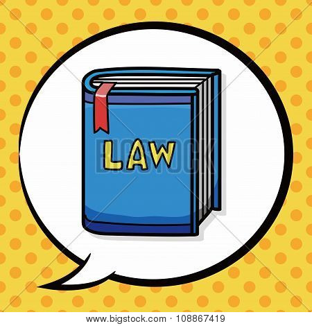 Law Book Doodle