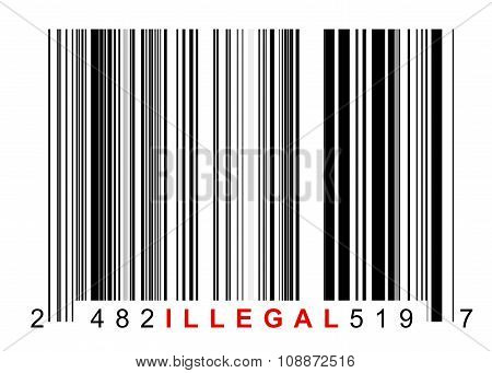 Barcode Illegal
