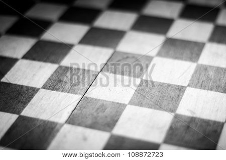 black & white checkerboard