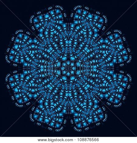 Abstract Background With Bubbles Pattern