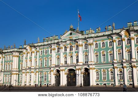 St. Petersburg. The Winter Palace. The Hermitage Museum