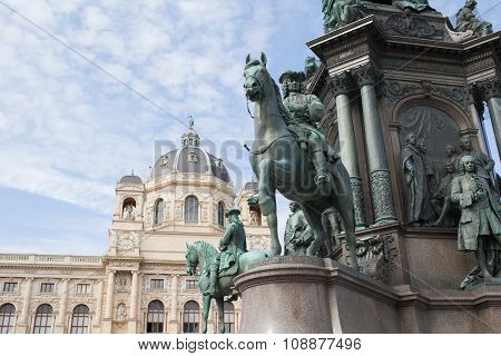 Part Of Maria Theresia Statue