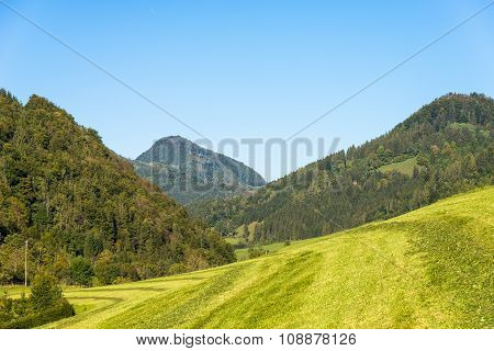 The Limestone Alps in Upper Austria