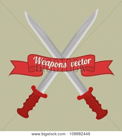 Guns and weapons
