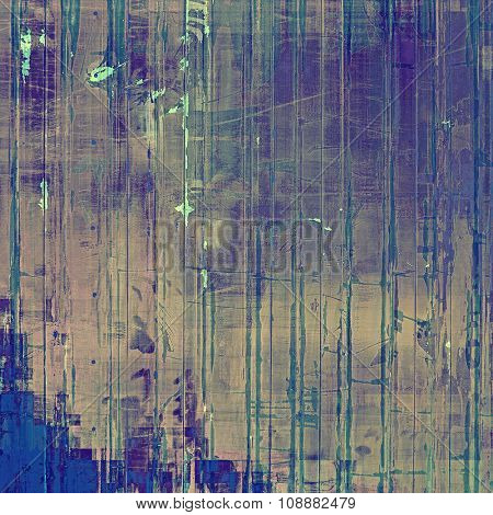 Grunge texture, may be used as retro-style background. With different color patterns: brown; purple (violet); blue; gray