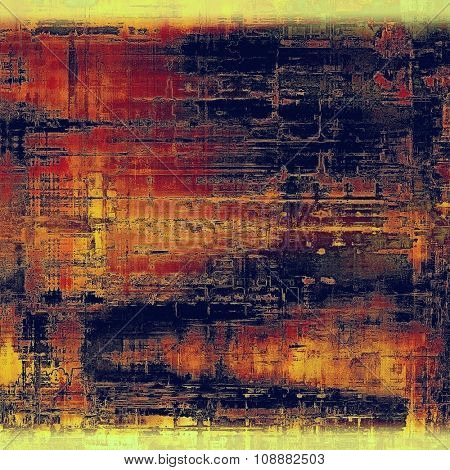 Grunge old texture as abstract background. With different color patterns: yellow (beige); purple (violet); blue; red (orange)