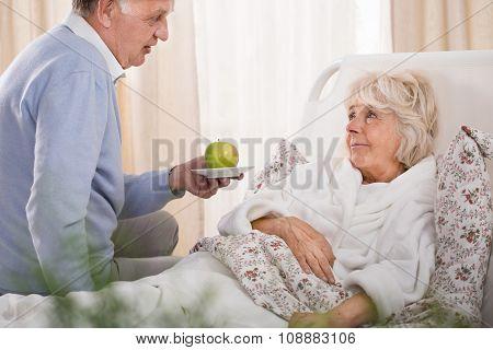 Loving Husband And Sick Wife
