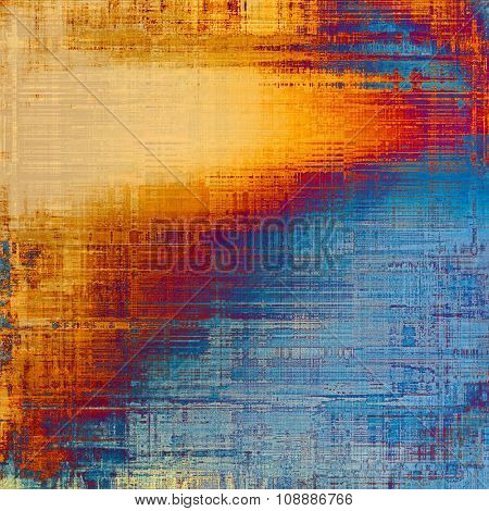Grunge background or texture for your design. With different color patterns: yellow (beige); purple (violet); blue; red (orange)