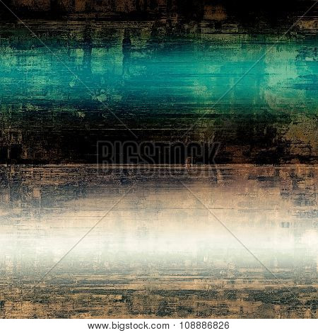 Grunge texture, may be used as retro-style background. With different color patterns: brown; blue; green; black; white