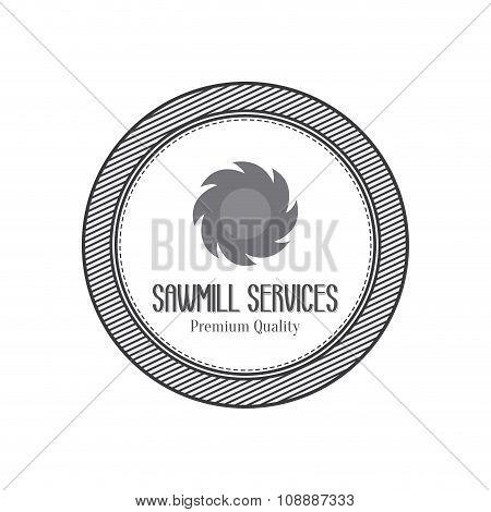Sawmill label object