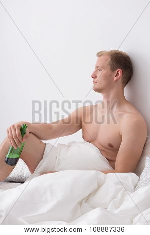 Drinking In A Bed