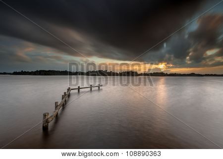 Stormy Lake Concept