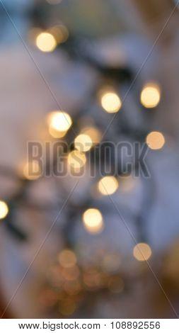 Christmas At Home (bokeh Image)