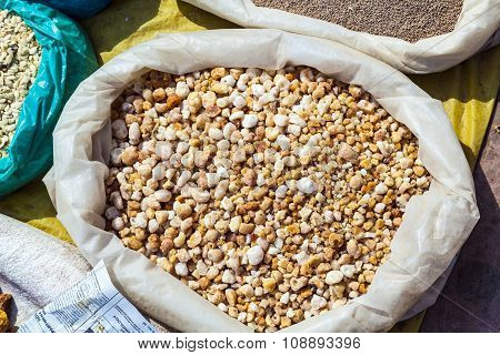 Olibanum For Sale On The Outdoor Market