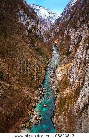 Piva River Canyon