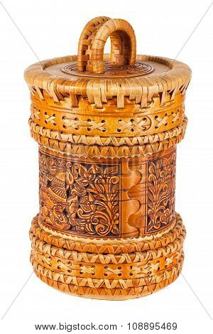 Russian Folk Container