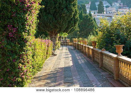 Public Garden, Taormina