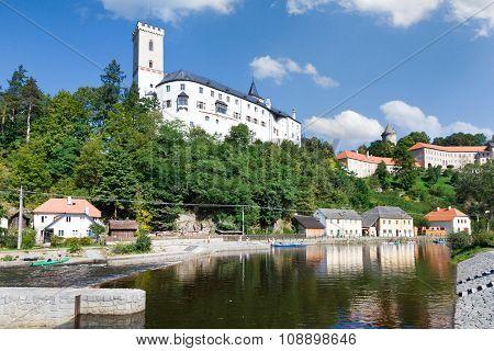 castle Rozmberk nad Vltavou, Czech republic