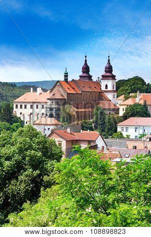 Trebic town (UNESCO), Moravia, Czech republic