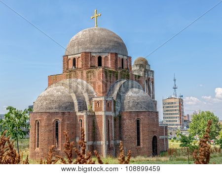 Unfinished Orthodox Cathedral in Pristina