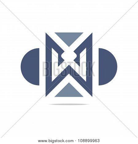 Logo Design Lettering Arrow Icon Symbol Abstract