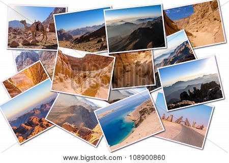 Sinai Peninsula Collage