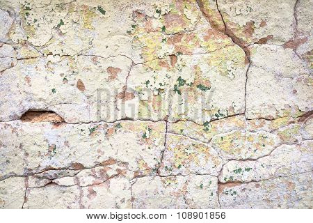 Grunge Plastered Wall Background