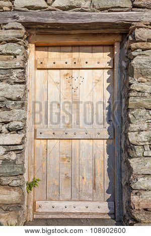 Heart On A Door