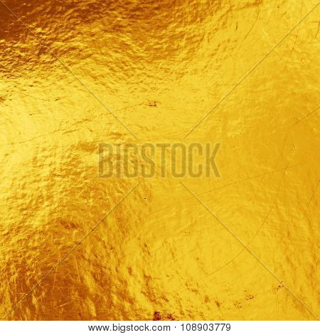 golden background texture.