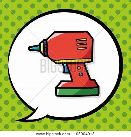 Electric Drill Color Doodle
