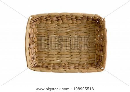 Plain Simple Wicker Tray