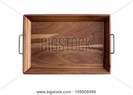 Decorative Rectangular Olive Wood Tray