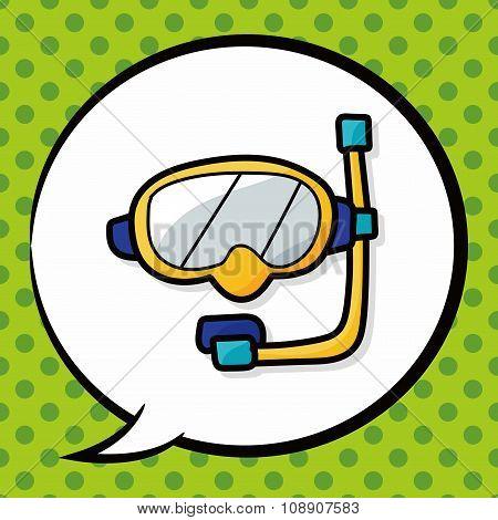 Snorkel Color Doodle