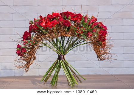 Bouquets Of Varios Flowers